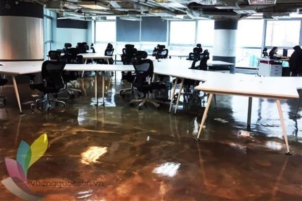 Dự án đánh bóng sàn văn phòng